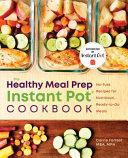 Healthy Meal Prep Instant Pot   Cookbook