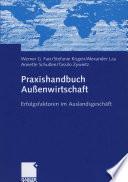 Praxishandbuch Außenwirtschaft