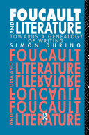 Pdf Foucault and Literature Telecharger