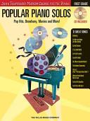 Popular Piano Solos   First Grade Book PDF