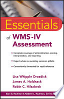 Essentials Of Wms Iv Assessment Book PDF