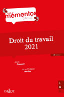 Pdf Droit du travail 2021 - 3e ed. Telecharger