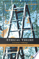 """""""Ethical Theory: A Concise Anthology"""" by Heimir Giersson, Margaret Holmgren"""