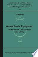 Anaesthesia Equipment Book