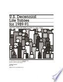 U S  decennial life tables for     Book
