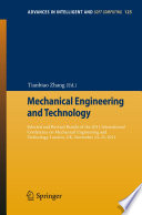 Mechanical Engineering And Technology Book PDF
