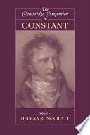 The Cambridge Companion To Constant