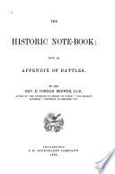 Historic Note book Book PDF