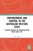 Empowerment and Control in the Australian Welfare State Pdf/ePub eBook