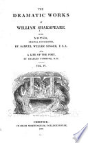 The Dramatic Works of William Shakespeare: Winter's tale. Comedy of errors. Macbeth. King John
