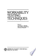 Workability Testing Techniques