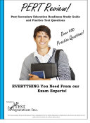 PERT Review! PostSecondary Readiness Test Study Guide and Practice Test Questions