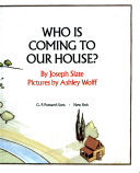 Who Is Coming to Our House  Book PDF