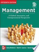 Management: A Global, Innovative and Entrepreneurial Perspective (15th Edition)