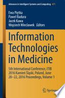 Information Technologies in Medicine