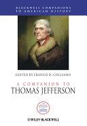A Companion to Thomas Jefferson Pdf/ePub eBook