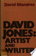 David Jones Artist And Writer
