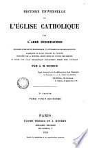 Histoire Universelle de l'Esglise Catholique, 22