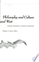 Philosophy and Culture--East and West