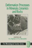 Deformation Processes in Minerals, Ceramics and Rocks [Pdf/ePub] eBook