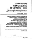 Innovations In Engineering Education Book PDF