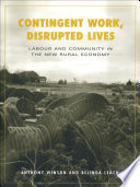 Contingent Work  Disrupted Lives