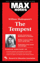 Tempest, The (MAXNotes Literature Guides)