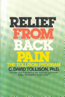 Relief from Back Pain, the Tollison Program