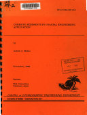 Cohesive Sediments in Coastal Engineering Application Book