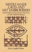 Needle-Made Laces and Net Embroideries