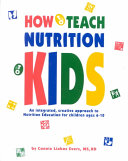 How to Teach Nutrition to Kids Book