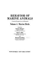 Behavior of Marine Animals  Marine birds