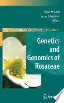 Genetics And Genomics Of Rosaceae Book PDF