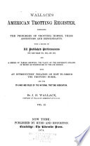 Wallace s American Trotting Register
