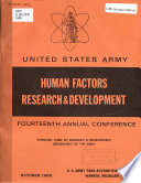 United States Army Human Factors Research   Development     Annual Conference