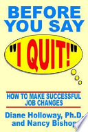 Before You Say I Quit