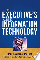 The Executive S Guide To Information Technology Book PDF