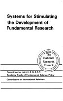 Systems For Stimulating The Development Of Fundamental Research