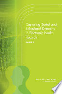 Capturing Social and Behavioral Domains in Electronic Health Records Book