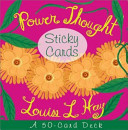 Power Thought Sticky Cards Book