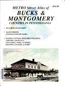 Metro Street Atlas of Bucks   Montgomery Counties in Pennsylvania