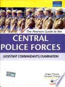 The Pearson Guide To The Central Police Forces Book PDF