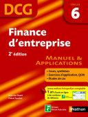 Finance d'entreprise - épreuve 6 - DCG manuel