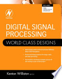 Digital Signal Processing World Class Designs Book PDF