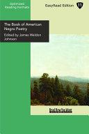 The Book of American Negro Poetry Pdf/ePub eBook