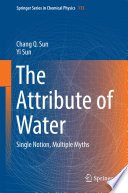 The Attribute of Water  : Single Notion, Multiple Myths
