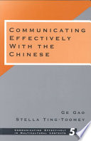Communicating Effectively with the Chinese Book PDF