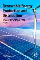 Recent Advances in Renewable Energy Technologies  Volume 3