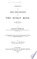 Elements of the Philosophy of the Human Mind Book