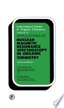 Application of Nuclear Magnetic Resonance Spectroscopy in Organic Chemistry